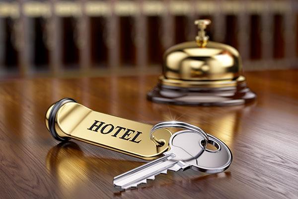 Llave de hotel